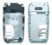 Kryt Nokia 6101 střední díl-Originální kryt vhodný pro mobilní telefony Nokia:Nokia 6101 střední kryt stříbrný