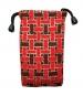 Pouzdro TEXTILNÍ - atraktiv červeno hnědá -Pouzdro TEXTILNÍ - atraktiv červeno hnědá, je určeno pro :* mobilní telefony* MP3* MP4* Ipod* malé typy tenkých fotoaparátůVelikost pouzdra je 7,5 x 12,5 cm