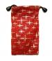 Pouzdro TEXTILNÍ - hvězdná červená -Pouzdro TEXTILNÍ - hvězdná červená, je určeno pro :* mobilní telefony* MP3* MP4* Ipod* malé typy tenkých fotoaparátůVelikost pouzdra je 7 x 12,5 cm