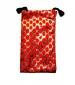 Pouzdro TEXTILNÍ - oblázky červené -Pouzdro TEXTILNÍ - oblázky červené, je určeno pro :* mobilní telefony* MP3* MP4* Ipod* malé typy tenkých fotoaparátůVelikost pouzdra je 7,5 x 13 cm