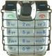 Klávesnice Nokia 2610 stříbrná-Klávesnice pro mobilní telefony Nokia:Nokia 2610stříbrná