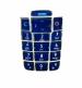 Klávesnice Nokia 2600 krystal modrá-Klávesnice pro mobilní telefon Nokia 2600