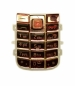 Klávesnice Nokia 6020 krystal bronz-Klávesnice pro mobilní telefony Nokia :Nokia 6020 / Nokia 6021