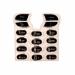 Klávesnice Sony-Ericsson T610 krystal černá-Klávesnice pro mobilní telefony Sony-Ericsson:Sony-Ericsson T610krystal černá