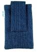 Pouzdro SPORT - semiš riflové proužky-Pouzdro SPORT - semiš riflové proužky, je vhodné pro :* mobilní telefony * MP3* MP4Rozměr pouzdra : 120 x 75 mmChcete, aby bylo o Vašeho telefonního mazlíka dobře postaráno, a aby byl hýčkán a rozmazlován?Nabízíme Vám jednoduché, praktické, ale zato komfortní řešení:* Kvalitní textilní pouzdro SPORT je z řady velmi oblíbených pouzder.