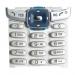 Klávesnice Sony-Ericsson T230 stříbrná-Klávesnice pro mobilní telefony Sony-Ericsson:Sony-Ericsson T230stříbrná