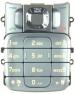Klávesnice Nokia 2310 stříbrná originál -Originální klávesnice pro mobilní telefon Nokia :Nokia 2310stříbrná