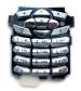 Klávesnice Motorola C350 / C450  stříbrná-Klávesnice pro mobilní telefony Motorola:Motorola C350 / C450stříbrná
