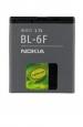 Baterie  Nokia BL-6F-Originální baterie BL-6F pro mobilní telefony Nokia:Nokia N78 / Nokia N79 / Nokia N95 8Gb