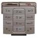 Klávesnice Nokia 6260 stříbrná-Klávesnice pro mobilní telefony Nokia:Nokia 6260stříbrná