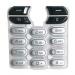 Klávesnice Sony-Ericsson T610 stříbrná-Klávesnice pro mobilní telefony Sony-Ericsson:Sony Ericsson T610stříbrná