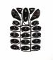 Klávesnice Ericsson R520 černá originál-Originální klávesnice pro mobilní telefon Ericsson :Ericsson R520černá