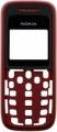Kryt Nokia 1208 červený originál -Originální přední kryt vhodný pro mobilní telefony Nokia: Nokia 1208