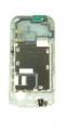 Střední díl Nokia 5200 / 5300 bílý - originál-Originální střední kryt pro mobilní telefon Nokia:Nokia 5200 / 5300bílý
