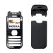 Kryt Nokia 6030 černý originál -Originální kryt vhodný pro mobilní telefony Nokia: Nokia 6030