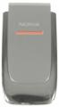Kryt Nokia 6060 stříbrný originál -Originální přední kryt vhodný pro mobilní telefony Nokia: Nokia 6060
