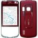 Kryt Nokia 6210navigátor červený originál -Originální kryt vhodný pro mobilní telefony Nokia: Nokia 6210navigátor