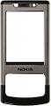Kryt Nokia 6500slide stříbrný originál -Originální přední kryt vhodný pro mobilní telefony Nokia: Nokia 6500slide