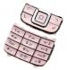 Klávesnice Nokia 6111 stříbrná originál-Originální klávesnice pro mobilní telefon Nokia :Nokia 6111stříbrná