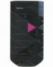 Kryt Nokia 7070 černý/růžový originál -Originální přední kryt vhodný pro mobilní telefony Nokia: Nokia 7070