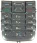 Klávesnice Nokia 6233 stříbrná originál-Originální klávesnice pro mobilní telefon Nokia :Nokia 6233stříbrná
