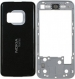 Kryt Nokia N81 stříbrný originál-Originální kryt vhodný pro mobilní telefony Nokia: Nokia N81