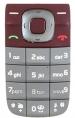 Klávesnice Nokia 2760 červená originál-Originální klávesnice pro mobilní telefon Nokia :Nokia 2760červená
