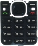 Klávesnice Nokia 5220xpressMusic černá originál-Originální klávesnice pro mobilní telefony Nokia :Nokia 5220xpressMusicčerná