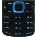 Klávesnice Nokia 5320xpressMusic modrá originál-Originální klávesnice pro mobilní telefony Nokia :Nokia 5320xpressMusicmodrá
