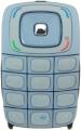 Klávesnice Nokia 6103 modrá originál-Originální klávesnice pro mobilní telefony Nokia :Nokia 6103modrá