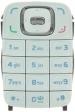 Klávesnice Nokia 6131 bílá originál-Originální klávesnice pro mobilní telefony Nokia :Nokia 6131