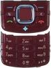 Klávesnice Nokia 6210navigátor červená originál-Originální klávesnice pro mobilní telefony Nokia :Nokia 6210navigátorčervená