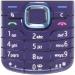 Klávesnice Nokia 6220classic fialová originál-Originální klávesnice pro mobilní telefony Nokia :Nokia 6220classicfialová