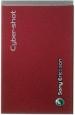 Kryt Sony-Ericsson C902 kryt baterie červený-Originální kryt baterie vhodný pro mobilní telefony Sony-Ericsson: Sony-Ericsson C902