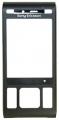 Kryt Sony-Ericsson C905 černý originál -Originální přední kryt vhodný pro mobilní telefony Sony-Ericsson: Sony-Ericsson C905