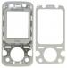 Kryt Sony-Ericsson F305 bílý originál-Originální přední kryt vhodný pro mobilní telefony Sony-Ericsson: Sony-Ericsson F305