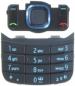 Klávesnice Nokia 6600i Slide černá originál-Originální klávesnice pro mobilní telefony Nokia:Nokia 6600i Slidečerná