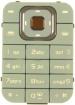 Klávesnice Nokia 7370 béžová originál-Originální klávesnice pro mobilní telefony Nokia:Nokia 7370béžová