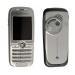 Kryt Sony-Ericsson K500 stříbrno-šedý-Kryt vhodný pro mobilní telefony Sony-Ericsson: Sony-Ericsson K500