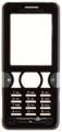 Kryt Sony-Ericsson K550i černý originál -Originální přední kryt vhodný pro mobilní telefony Sony-Ericsson: Sony-Ericsson K550ičerný