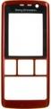 Kryt Sony-Ericsson K610i - červený originál-Originální přední kryt vhodný pro mobilní telefony Sony-Ericsson: Sony-Ericsson K610i
