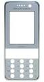 Kryt Sony-Ericsson K660i bílý originál -Originální přední kryt vhodný pro mobilní telefony Sony-Ericsson: Sony-Ericsson K660i