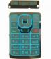 Klávesnice Nokia N76 modrá originální-Originální klávesnice pro mobilní telefon Nokia :Nokia N76modrá