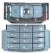 Klávesnice Nokia N95 stříbrná originální-Originální klávesnice pro mobilní telefon Nokia :Nokia N95stříbrná - dva díly