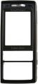 Kryt Sony-Ericsson K800i černý originál -Originální přední kryt vhodný pro mobilní telefony Sony-Ericsson: Sony-Ericsson K800i