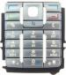Klávesnice Nokia E60 stříbrná originální-Originální klávesnice pro mobilní telefon Nokia :Nokia E60stříbrná