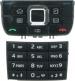 Klávesnice Nokia E66 Grey originál-Originální klávesnice pro mobilní telefon Nokia :Nokia E66šedá - dva díly