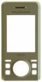 Kryt Sony-Ericsson S500i žlutý originál -Originální přední kryt vhodný pro mobilní telefony Sony-Ericsson: Sony-Ericsson S500i