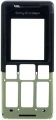 Kryt Sony-Ericsson T250i černý originál-Originální přední kryt vhodný pro mobilní telefony Sony-Ericsson: Sony-Ericsson T250i