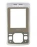 Kryt Sony-Ericsson T303 stříbrný originál-Originální přední kryt vhodný pro mobilní telefony Sony-Ericsson: Sony-Ericsson T303